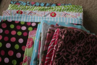 Girls fabric