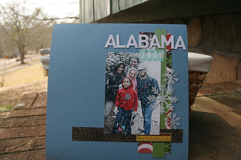 Alabama snow