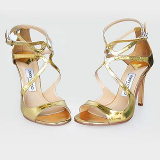 Jimmy choo lance mirrored sandals (1)