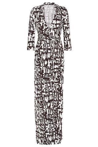DVF Maxi Wrap Dress