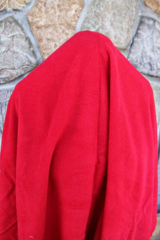 Lipstick red wool 2