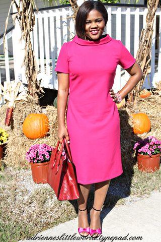 Pink dress 4a