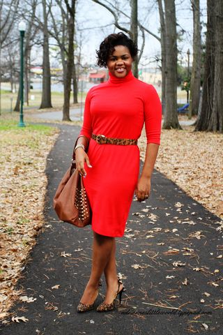 Turtleneck Dress 2a